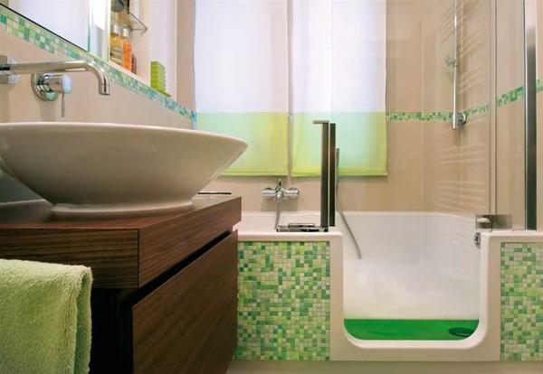 Cuartos de baño pequeños idea genial moderno
