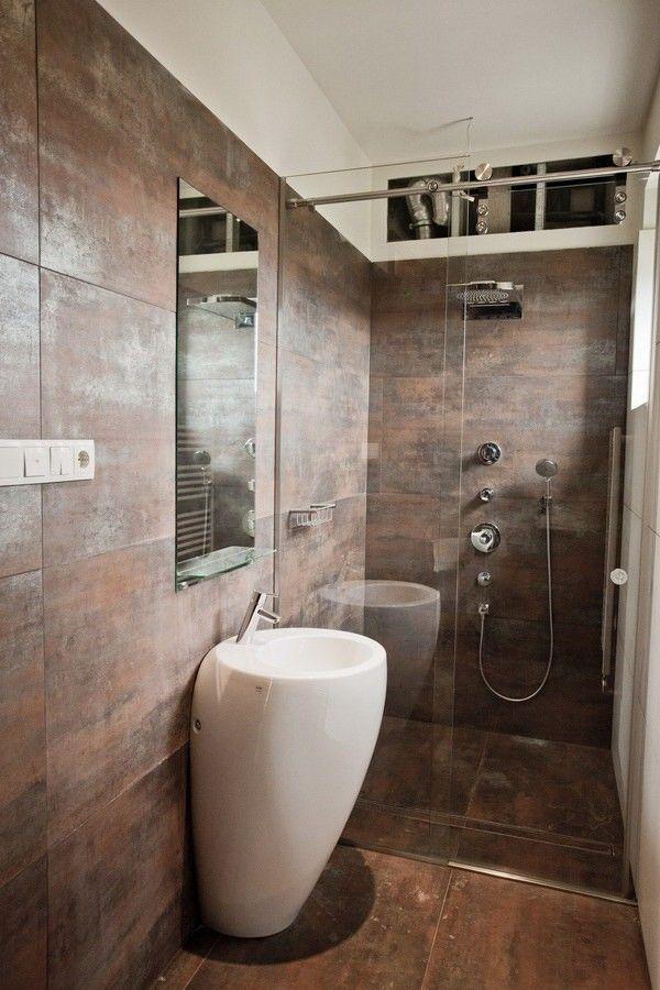 Cuartos de baño pequeños idea increible
