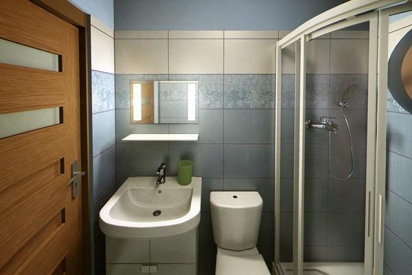 Cuartos de baño pequeños iluminado precioso moderno