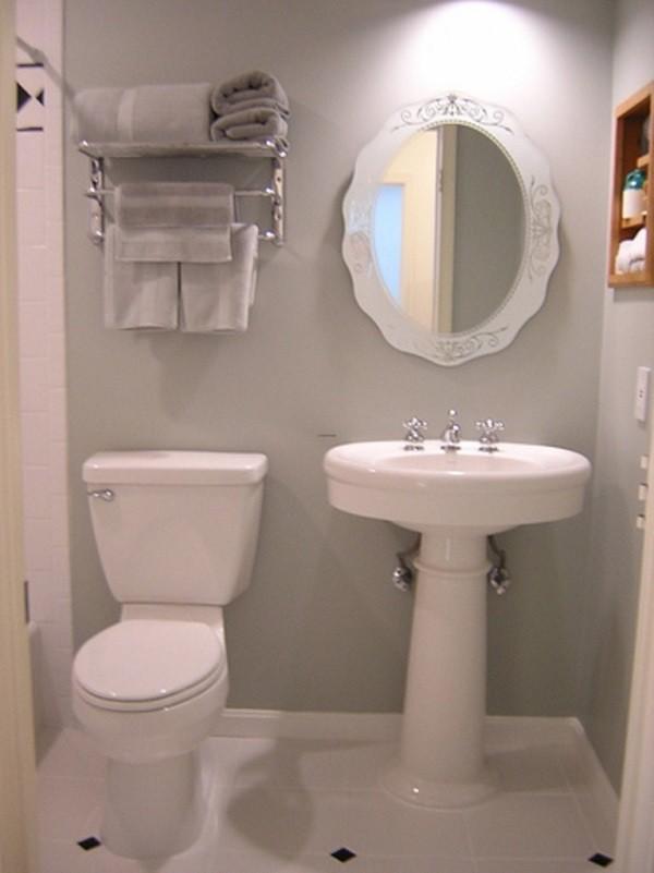 Cuartos de baño pequeños moderno inspiracion blanco