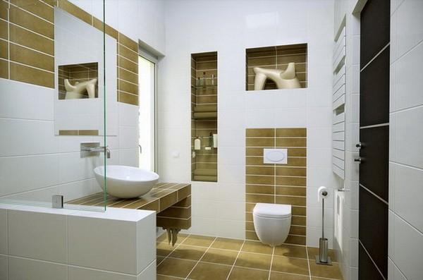 Cuartos de baño pequeños lavabo interesante