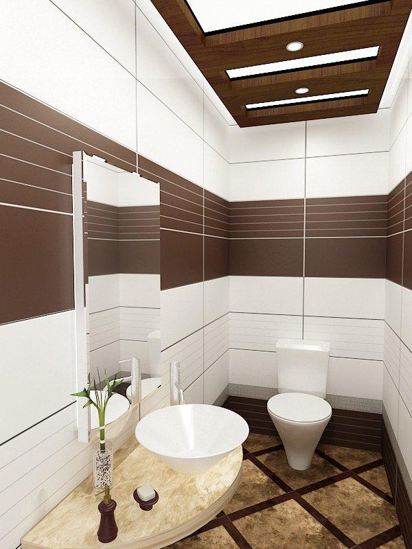 Cuartos de baño pequeños parece espacioso