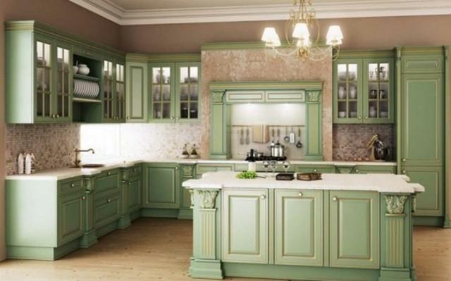 Vintage estilo retro cl sico en la cocina for Simulador de muebles de cocina