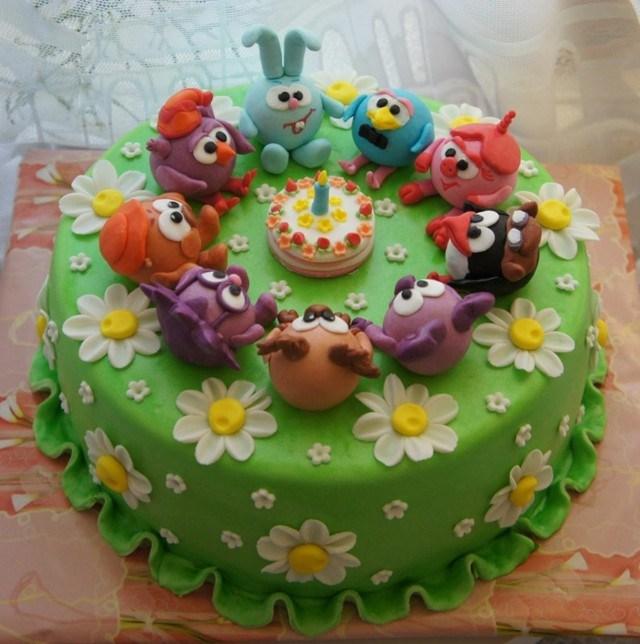 Pasteles de cumplea os para ni os 100 ideas incre bles for Decoracion tartas infantiles