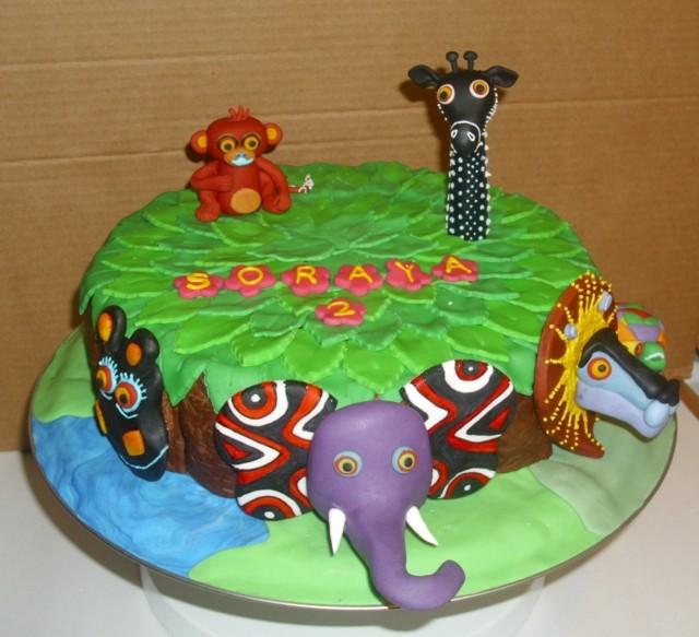 Animal Jam Birthday Cake Ideas