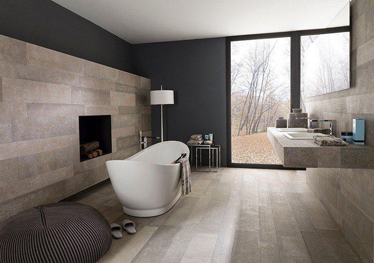 azulejos para baños diseño pintura bañera