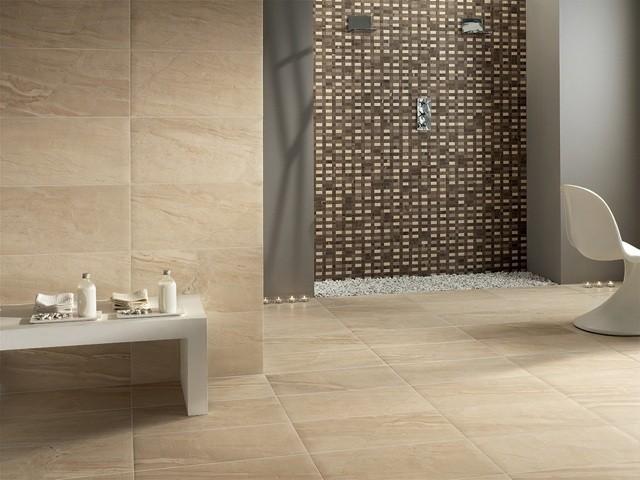 Baños Azulejos Beige:Azulejos para baños modernos, 50 ideas increíbles