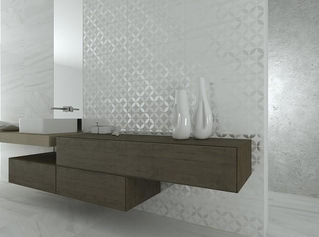 azulejos para baños mueble baño luz jarrones