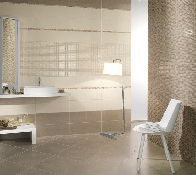 Lamparas Para Baño Pequeno:Ideas increíbles para pintar los azulejos de tu baño – Blog de El