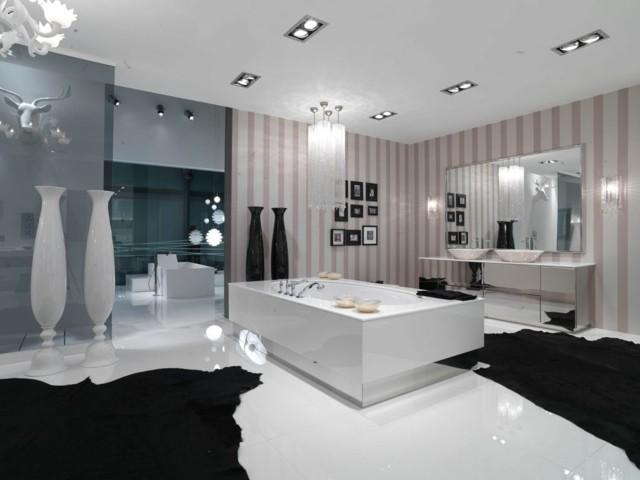 baño exclusivo moderno diseño idea luz