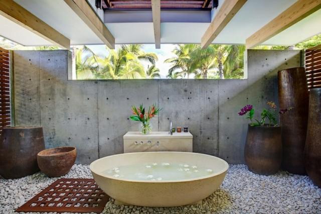 baños-bañera-bol-piedras