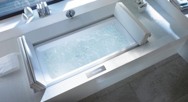 baños modernos de lujo bañera hidromasaje ideas