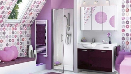 baños modernos muebles combinados cojines