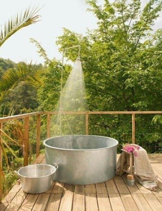 Baños Para Jardin De Ninos:Decoración ideas para el baño – Baños rústicos, ideas para