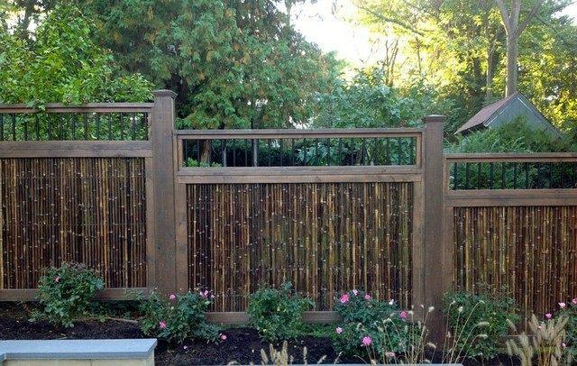 Bamboo Garden Fence Japanese Style