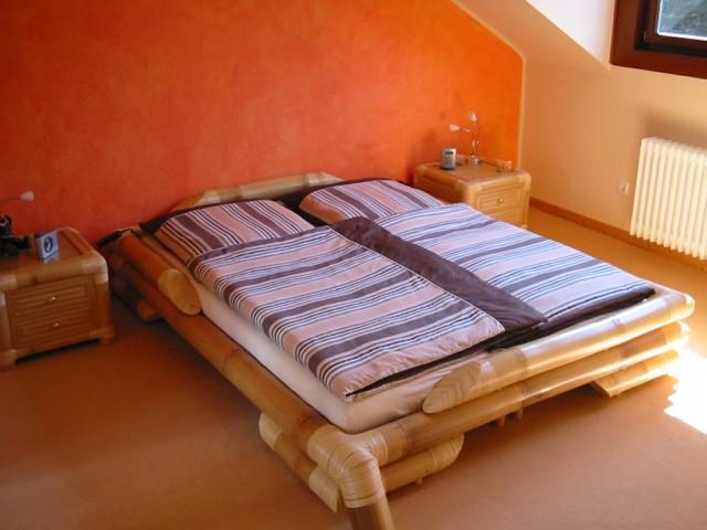 bambú idea genial dormitorio cama grande