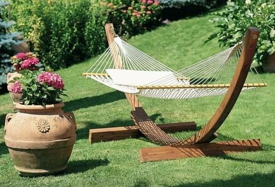 barata hamacas natural jardin terraza soporte