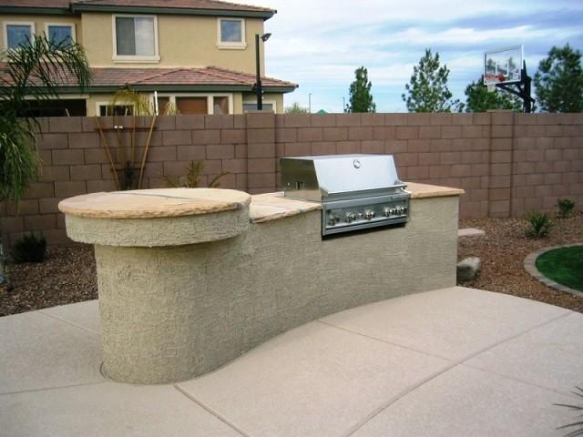 Barbacoas de obra y cocinas exteriores for Muebles cocina para exterior