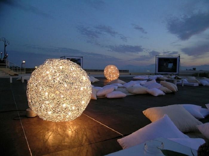 grande suelo redondas enredadas lamparas iluminacion
