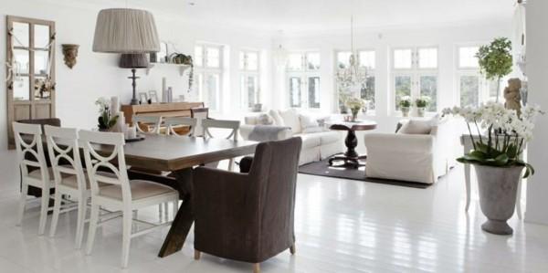 Muebles de comedor en el sal n para las cenas especiales for Muebles bonitos para salon