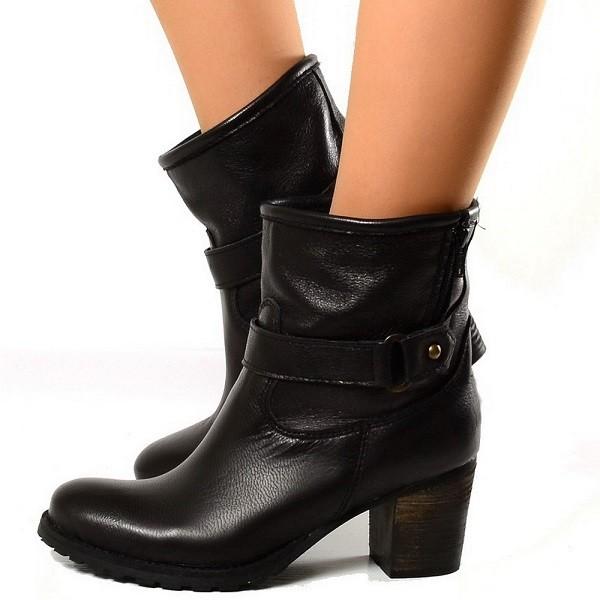 botas modernos piel cowboy