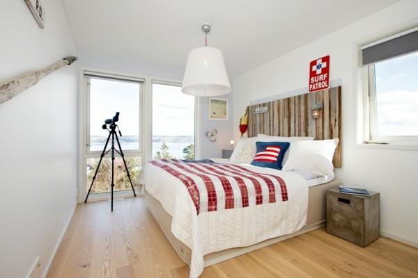cama grande bandera iluminado