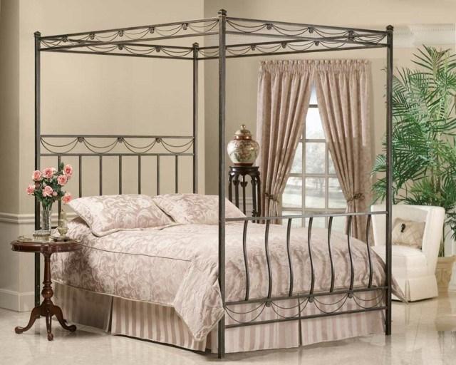 cama hierro idea simple original diseo moderna