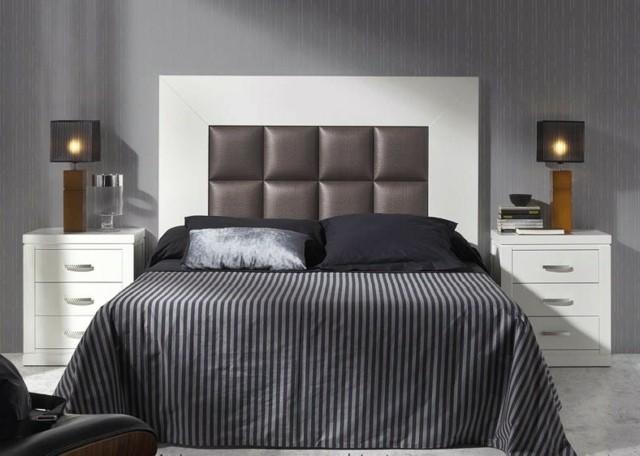 cama lámparas madera habitación mesa