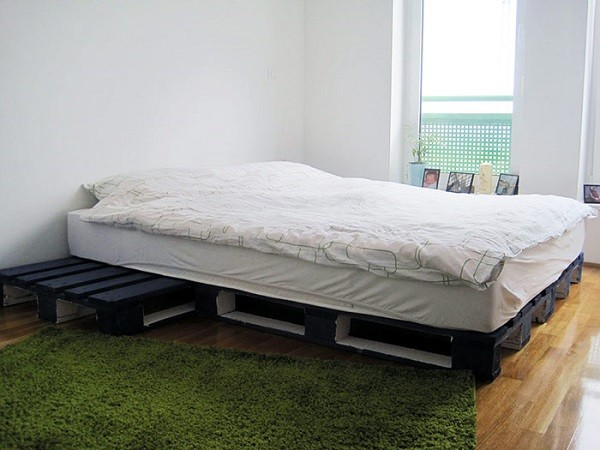 cama palets grande simple original