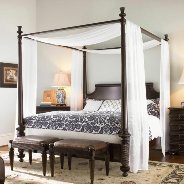 camas dosel dormitorios modernos ideas simples bonita