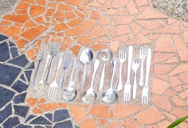 camino original tenedores cucharas antiguas