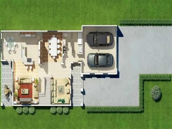 Planos de casas y apartamentos en 3 dimensiones for Planos de jardines