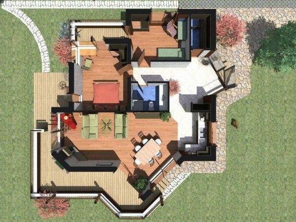 planos de casas y apartamentos en 3 dimensiones