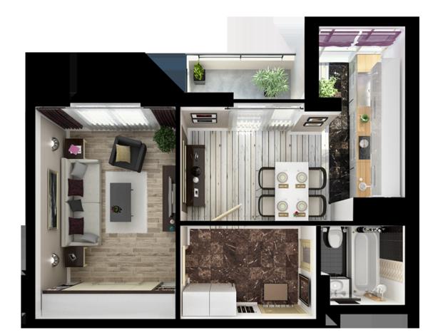 casa plano link negro piso