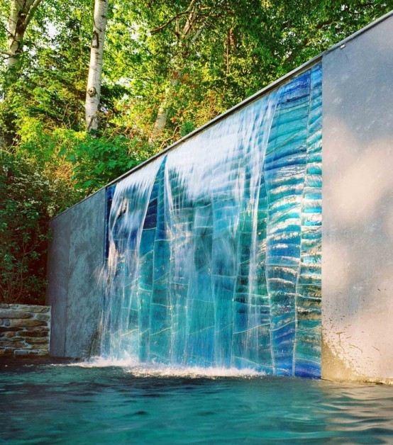 Cascadas para jard n la belleza de la naturaleza en tu hogar for Caidas de agua para jardin