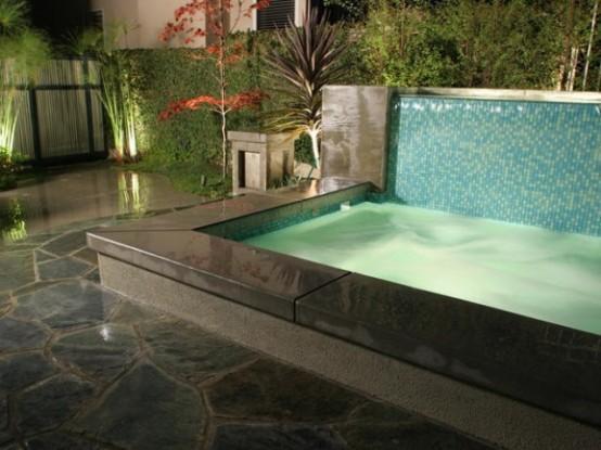 Cascadas para jard n la belleza de la naturaleza en tu hogar - Cristales para piscinas ...