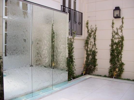 Cascadas para jard n la belleza de la naturaleza en tu hogar - Decoracion muros exteriores ...