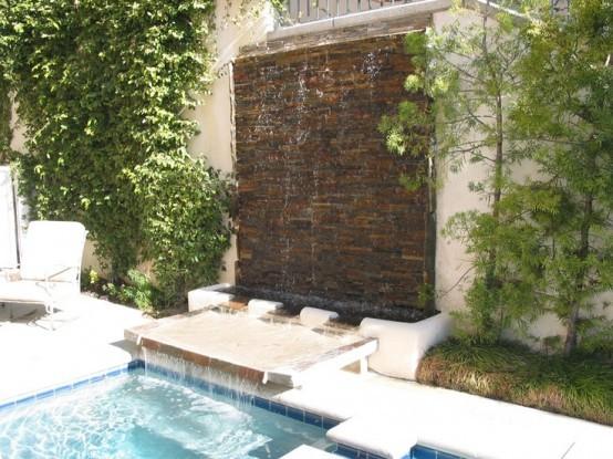 Cascadas para jard n la belleza de la naturaleza en tu hogar - Diseno de cascadas para jardin ...