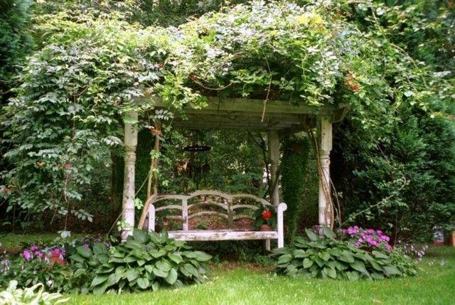 Casetas de jard n y cobertizos con mucho encanto - Caseta jardin madera ...