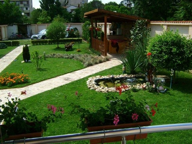 caseta madera jardin porche madera