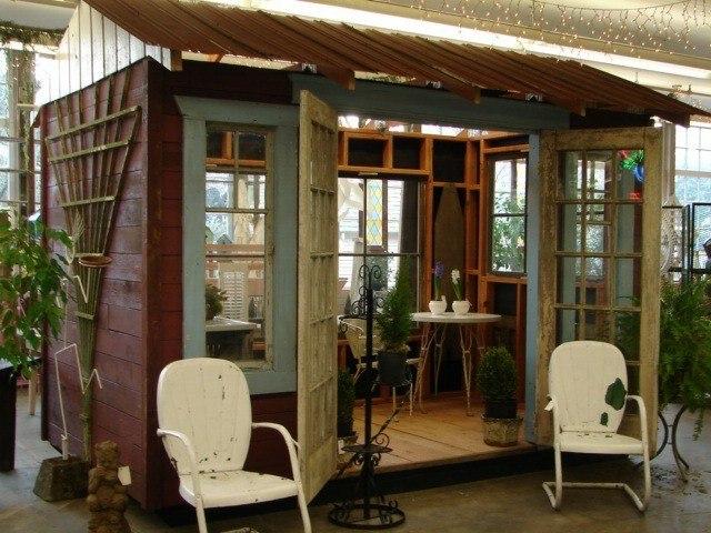 Casetas de jard n y cobertizos con mucho encanto for Casitas de jardin de madera