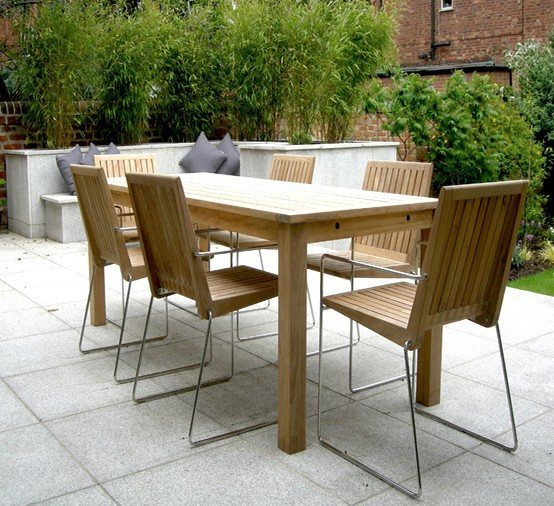Muebles terraza madera sofs hechos con palets para jardn for Muebles terraza exterior