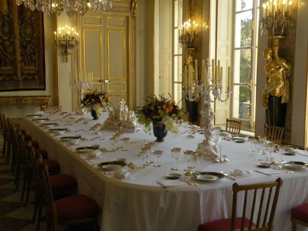 Muebles de comedor en el sal n para las cenas especiales - Salones lujosos ...