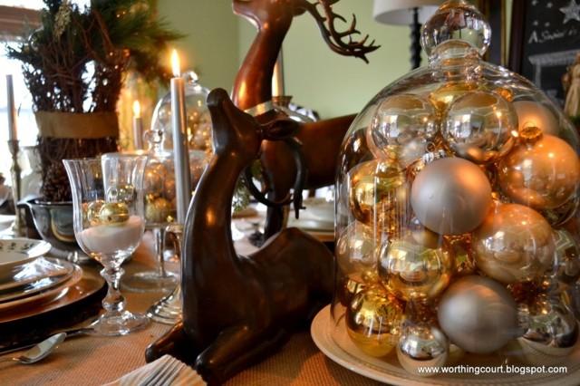 centro de mesa motivos figuras animales bolas