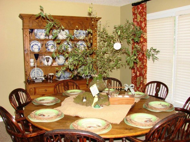 Centros de mesa que nos alegran la vista - Centro de mesa comedor ...