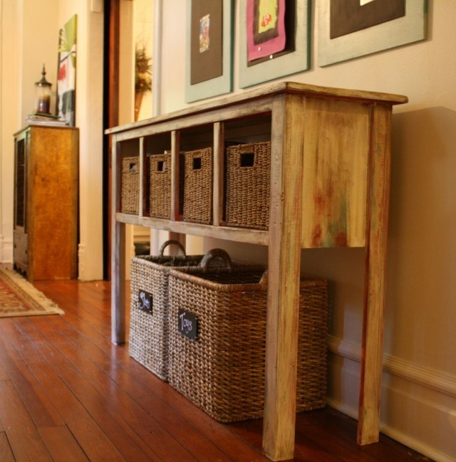 cestas bamb -decorativas utiles modernos casa