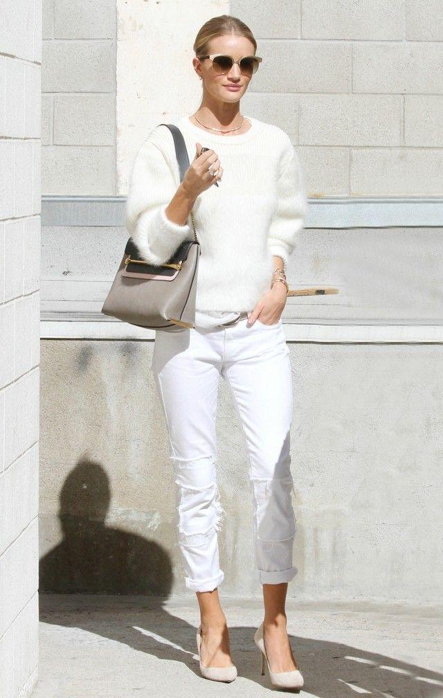 chicas guapas estilo casual ropa ideas moderna blanco