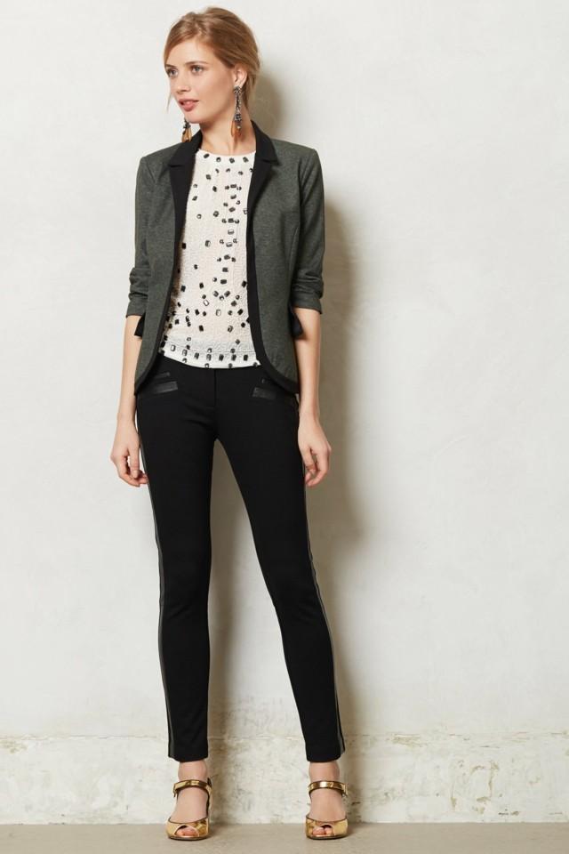 chicas guapas modernas pantalon idea negro