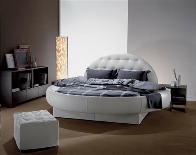 circular cama muebles moderno cirdular