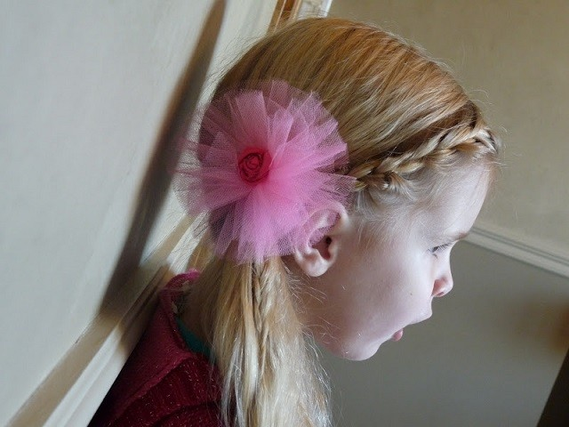 clasico peinado lacio pelo comunion